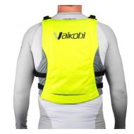 V3 Ocean Racing PFD - Fluro Yellow/Grey - back