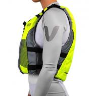 V3 Ocean Racing PFD - Fluro Yellow/Grey - side
