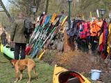 Testpaddelwochenende auf dem Gelände vom Rostocker Kanu-Club