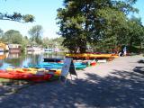 Testpaddeln Kajak - Canadier - Angelkajak - SUP mit Lettmann, Prijon, Nativ Watercraft